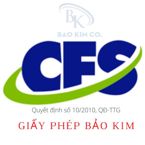 Doanh nghiệp cần chú ý gì khi xin giấy phép lưu hành tự do (CFS) cho hàng hoá