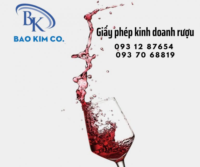 quy trình đăng ký giấy phép bán lẻ rượu