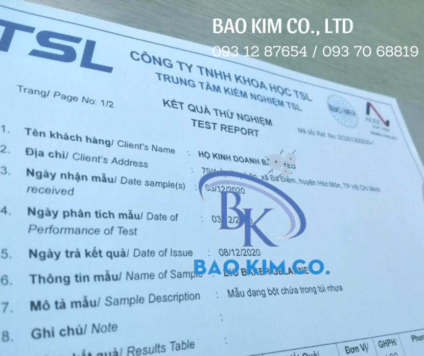 Dịch vụ kiểm nghiệm và công bố chất lượng tinh bột nghệ TOÀN QUỐC