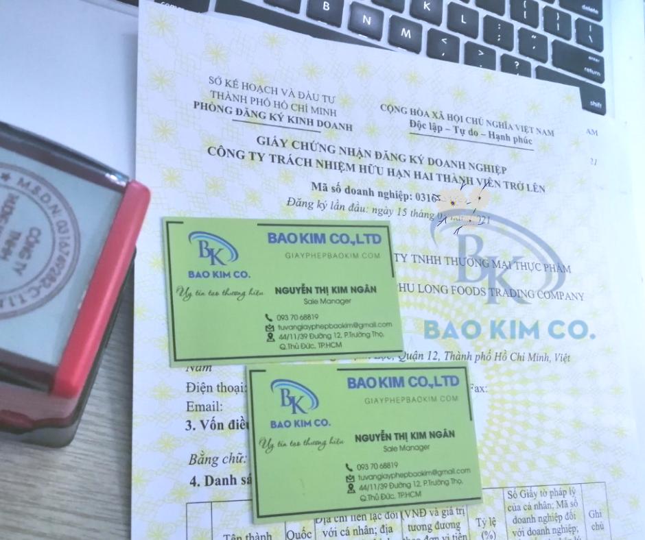 Đăng ký giấy phép kinh doanh sản xuất trà đen