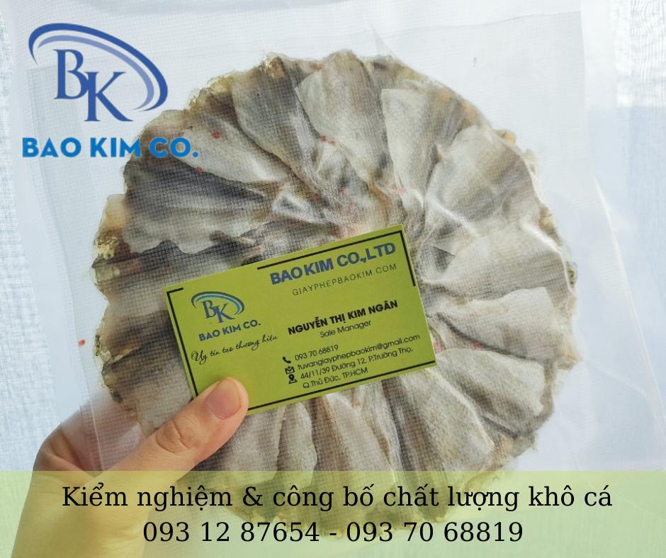 Dịch vụ kiểm nghiệm và tự công bố chất lượng cá khô toàn quốc